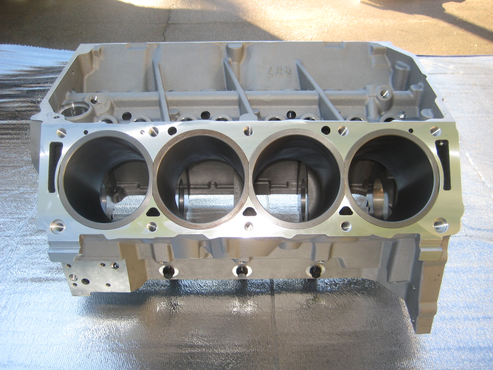 ford fe engine block weight